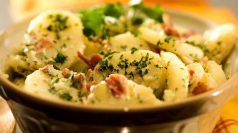 insalata bacon patate