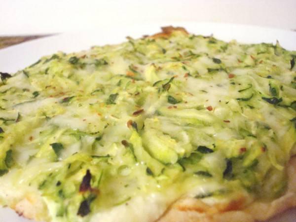 pizza zucchine