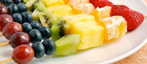 spiedini frutta