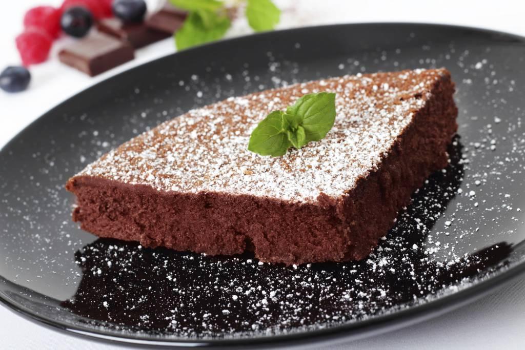 Torta Senza Burro E Lievito.Torta Al Cioccolato Senza Burro Uova Latte E Lievito