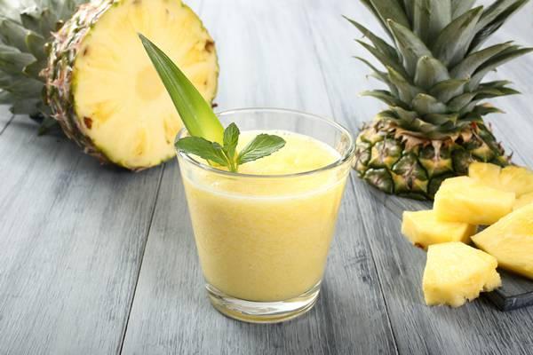 succo all'ananas e arancia