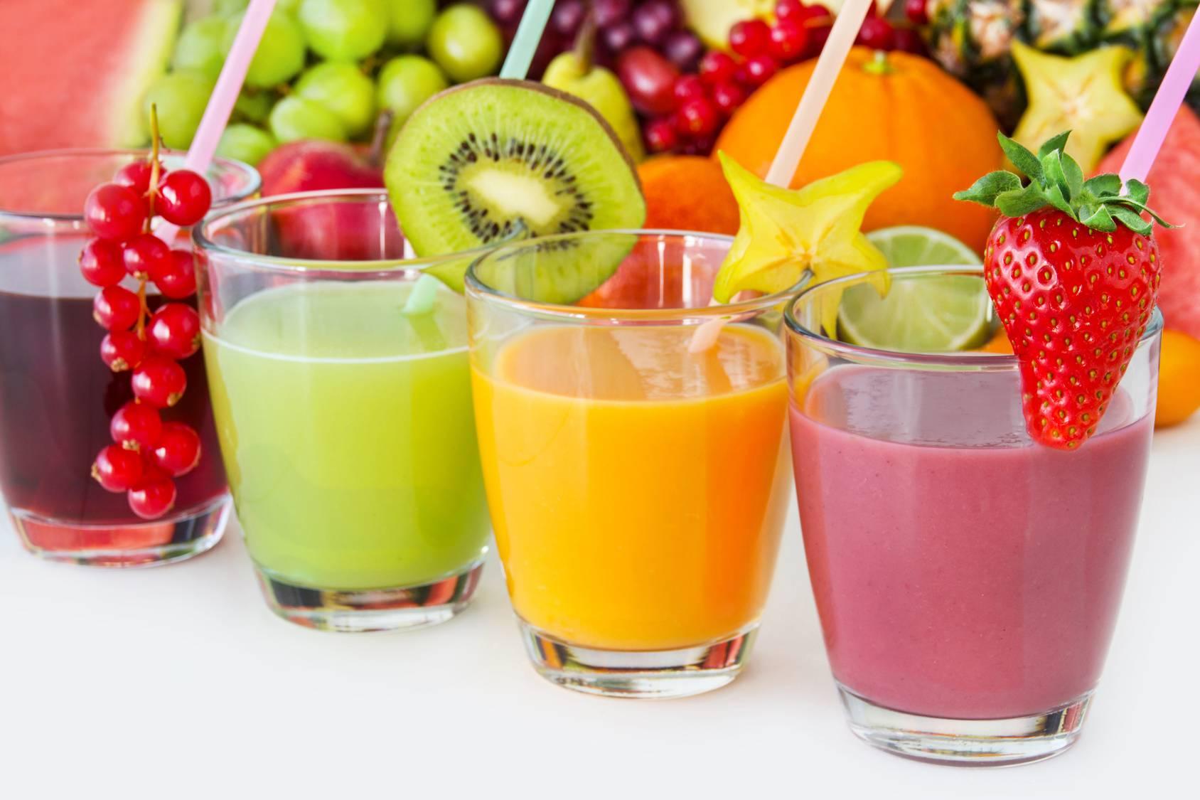 I succhi di frutta sono dannosi per la salute