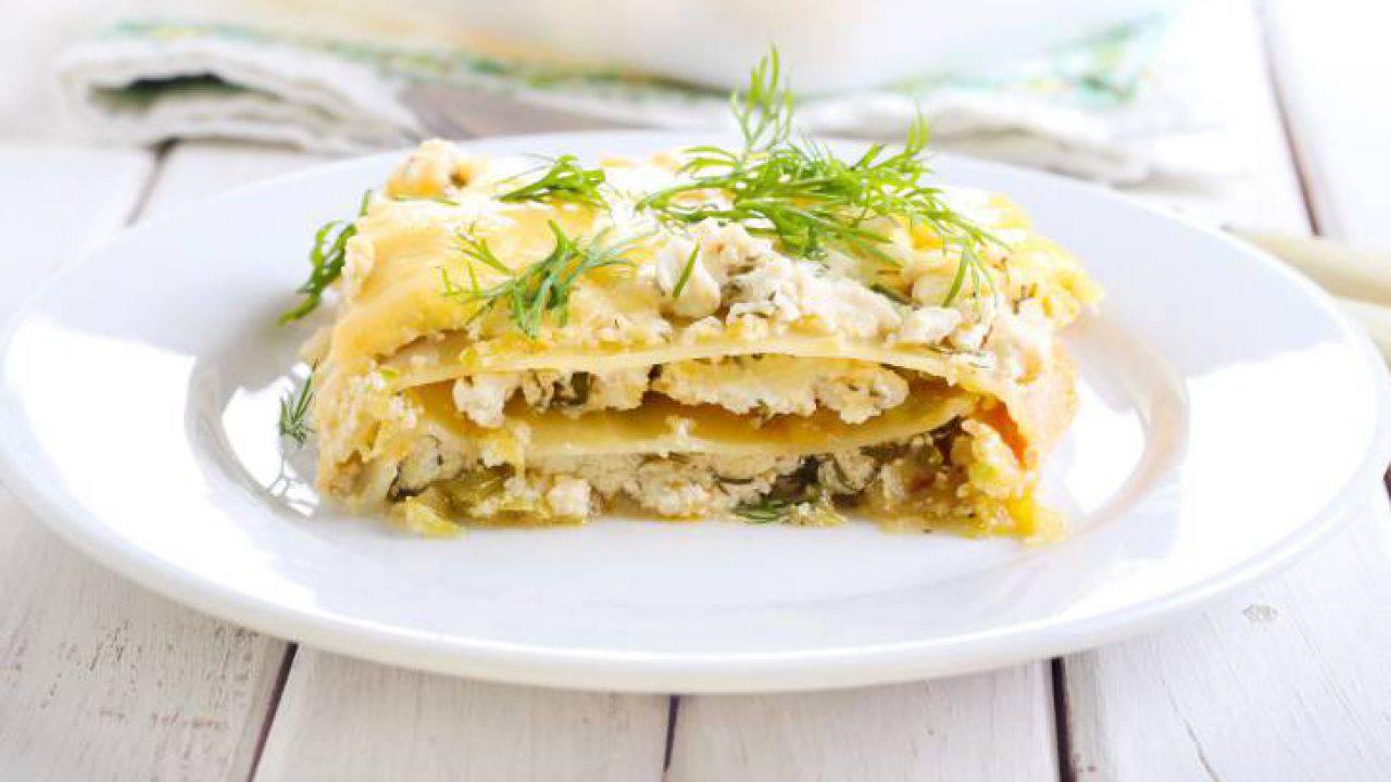 Ricetta Delle Lasagne Ai Quattro Formaggi.Lasagna Ai Quattro Formaggi