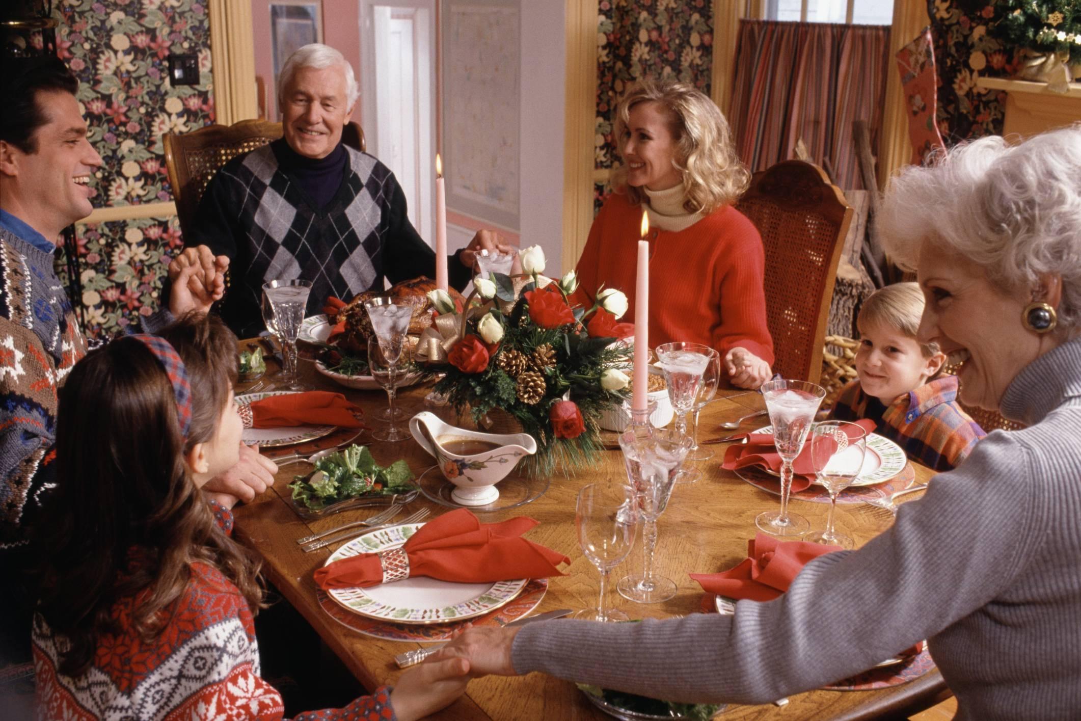 Pranzo E Cenone Di Natale, Come Evitare Lo Stress