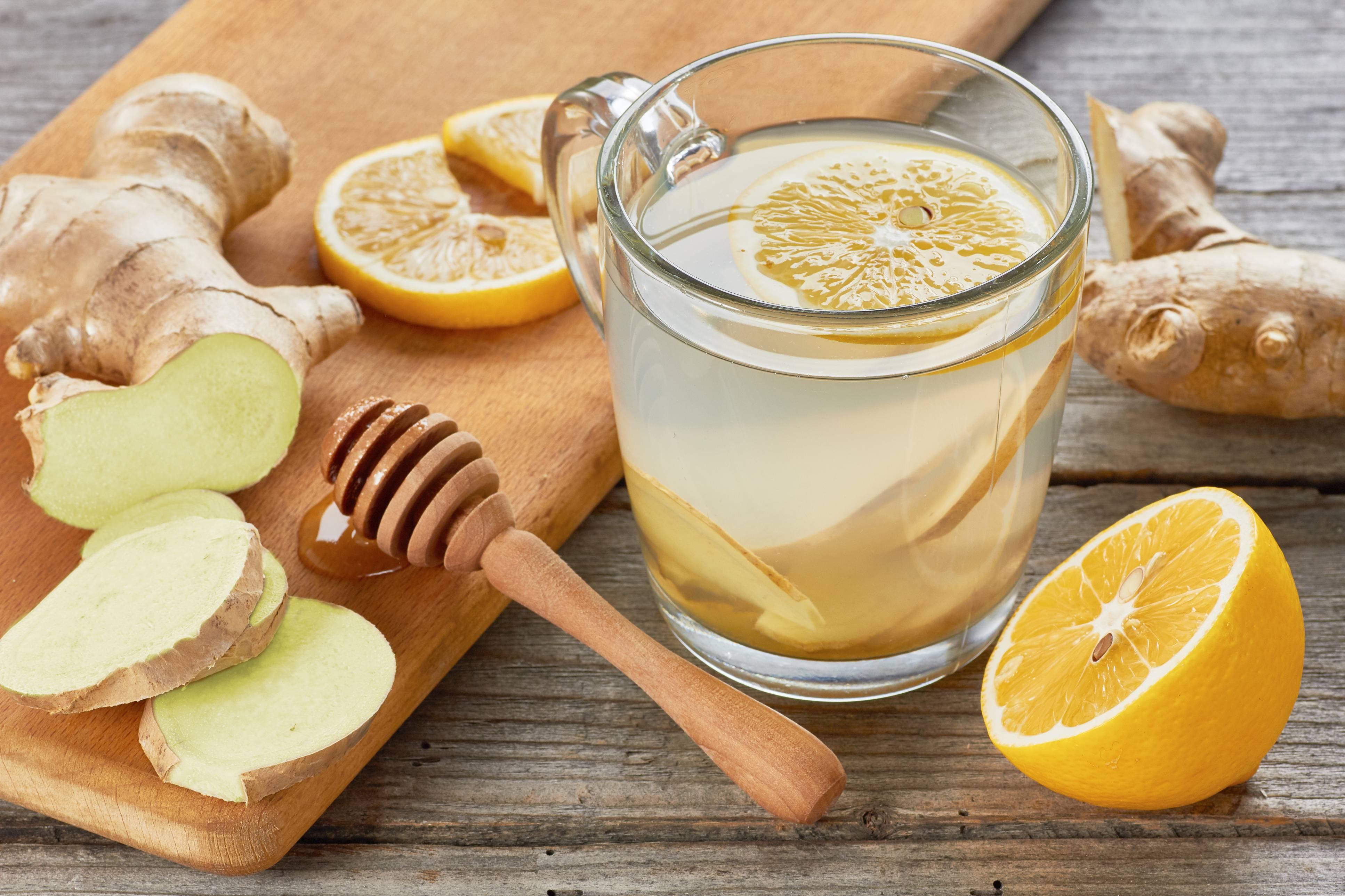 tè allo zenzero con miele e limone per perdere peso