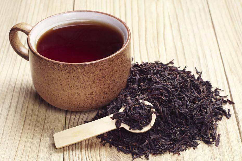 tazze di tè nero