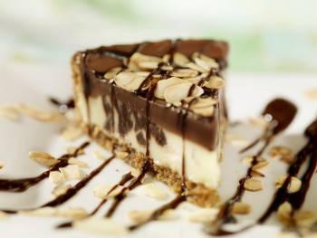 cheesecake ganache al cioccolato