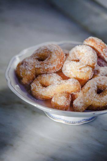 Hand made Graffe, Italian Cake, similar to sugar donuts.