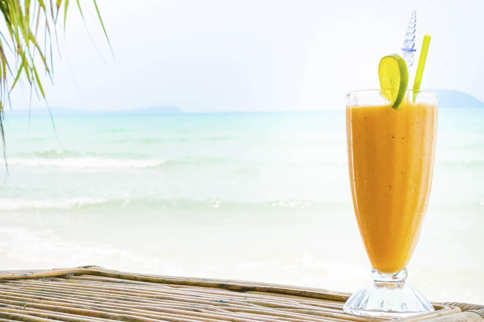 Centrifugato tropicale antiossidante