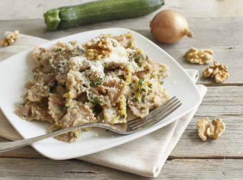 pasta con zucchine al forno