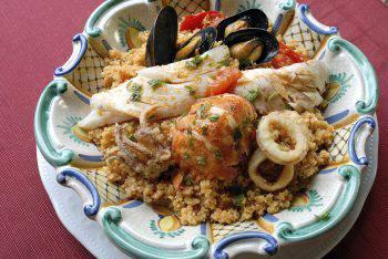 cuscus con pesce