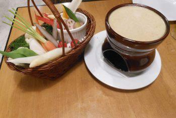 Bagna càuda, Italian food