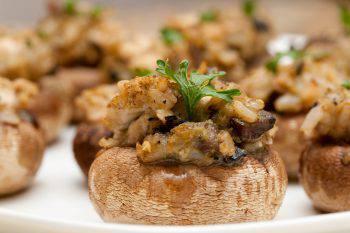 champignon ripieni al forno