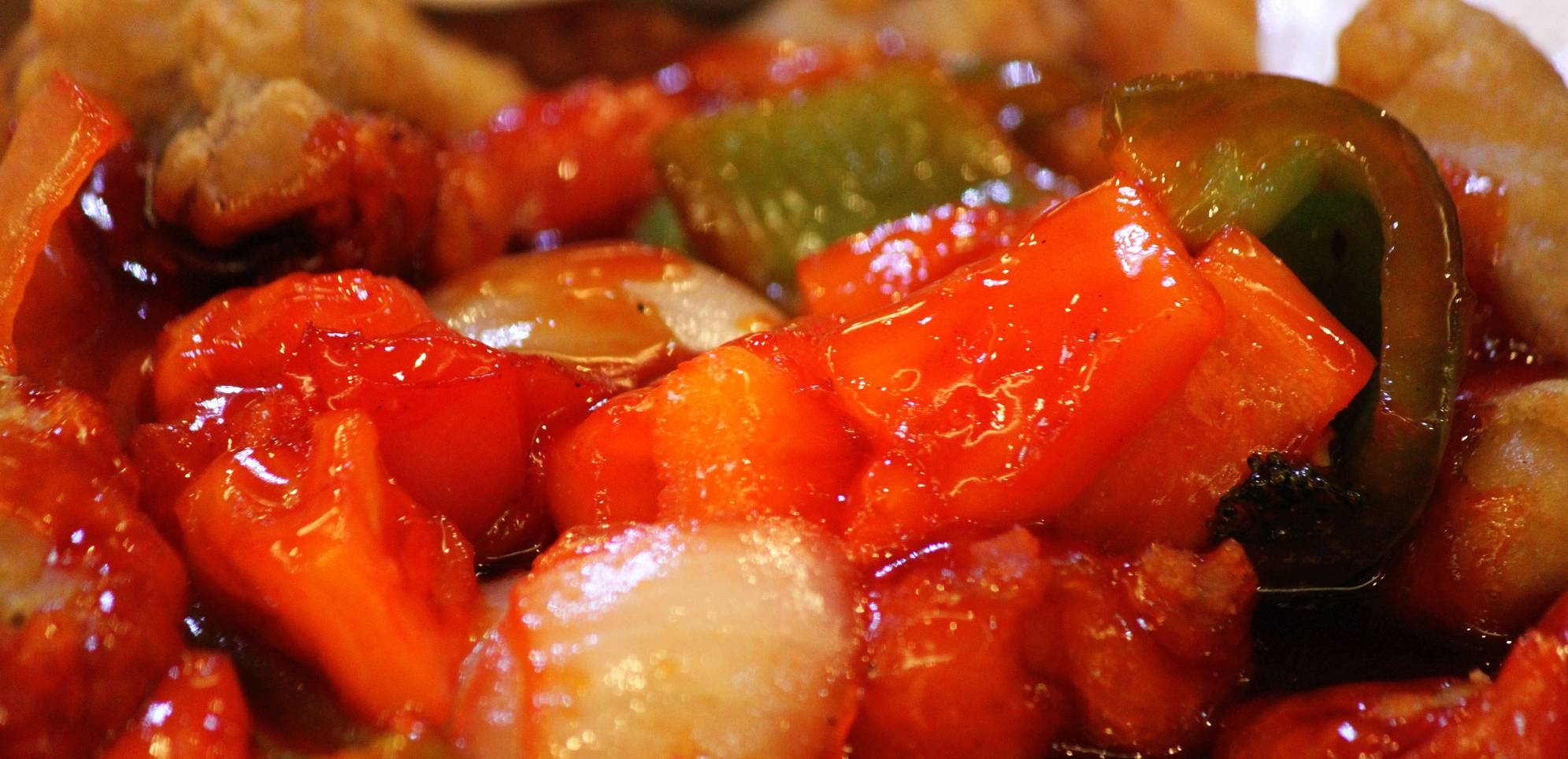 Sweet and Sour Chinese food