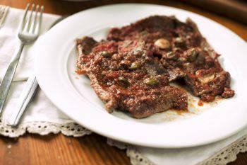 Pizzaiola meat