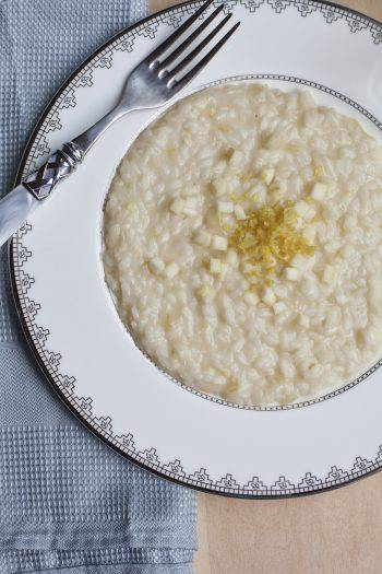 Risotto with Apple and Champagne