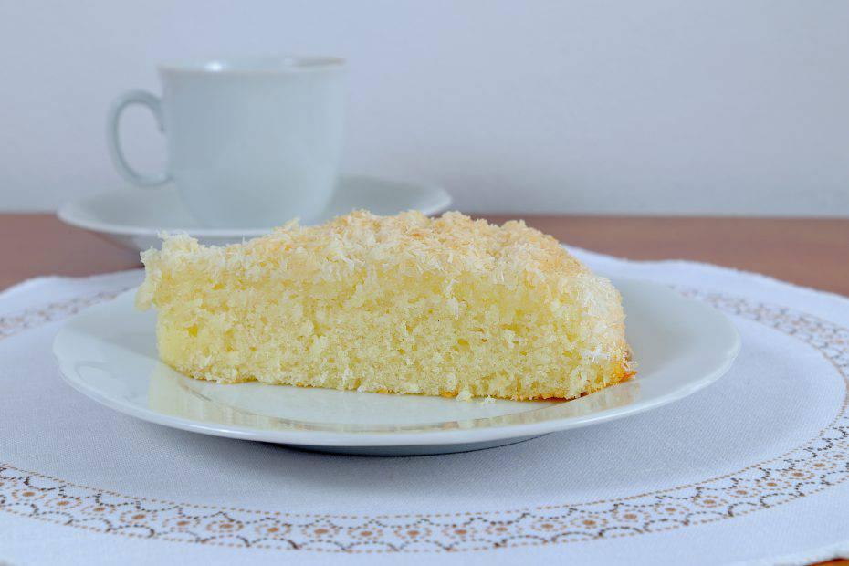torta al cocco cremosa senza farina