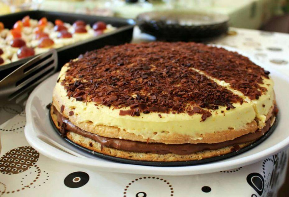 Torta Crema e Nutella