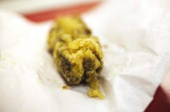 Deep fried candy bar