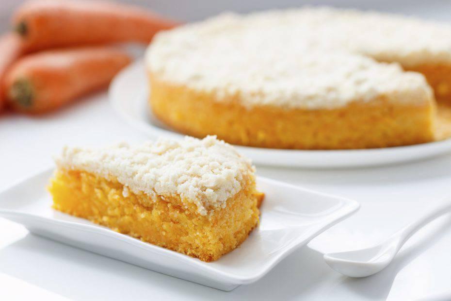 torta con arance e carote