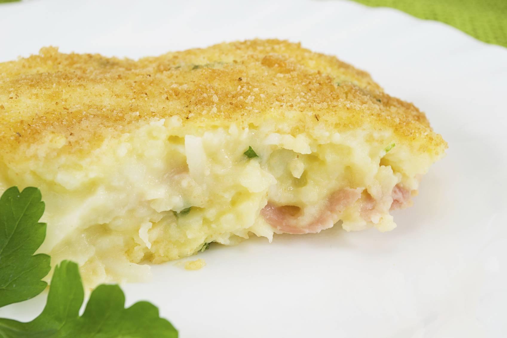 Pizza di patate napoletana