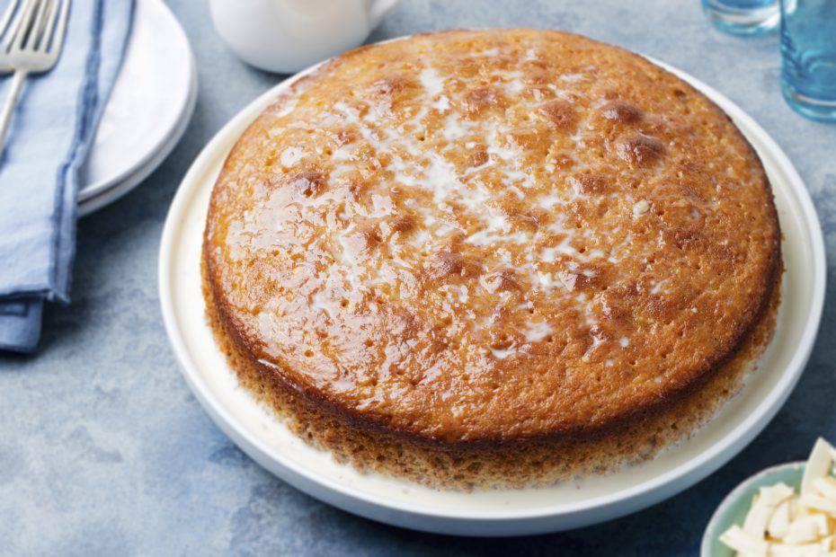 torta all'acqua senza latte, uova e burro