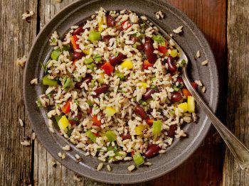 Quinoa and Brown Rice Salad