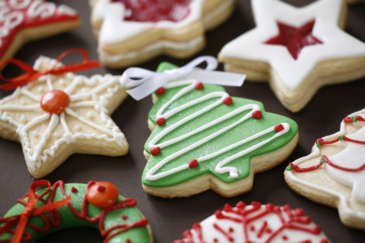 Alberelli Di Natale Biscotti.Biscotti Da Appendere All Albero Di Natale