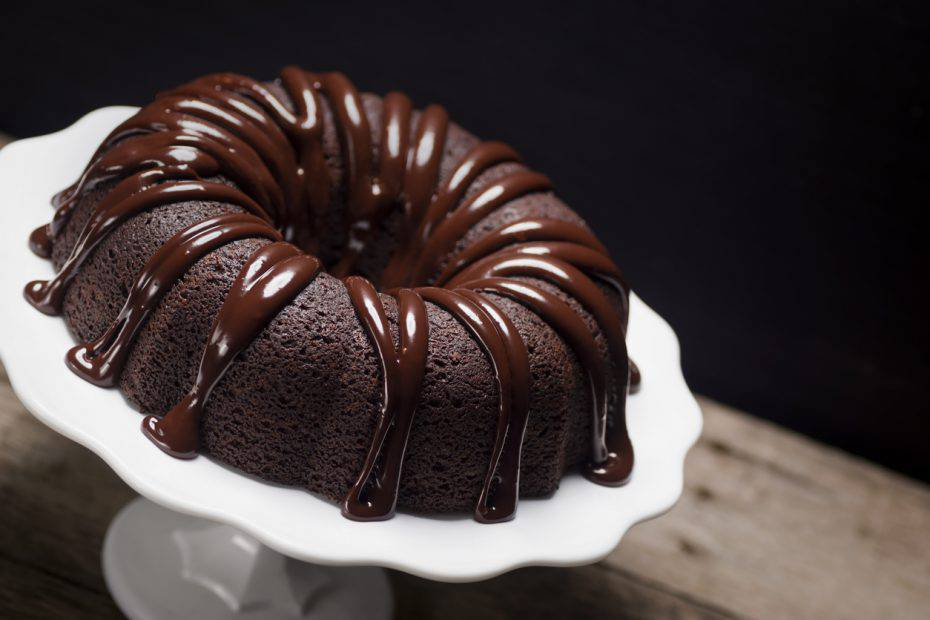 ciambella al doppio cioccolato