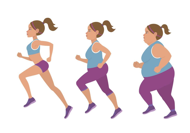 perdere peso camminando