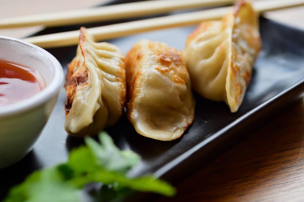 Ricetta Per Ravioli Cinesi.Ravioli Cinesi Di Carne Al Vapore Ricette Di Checucino It