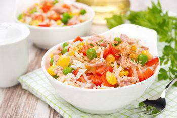 dieta del riso e tonno
