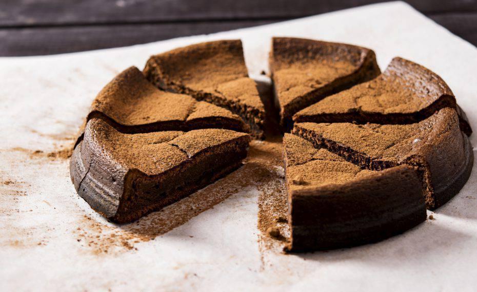 torta al cioccolato fondente senza cottura