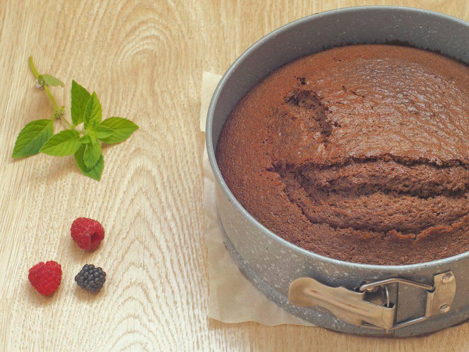 pan di spagna al cacao di Iginio Massari
