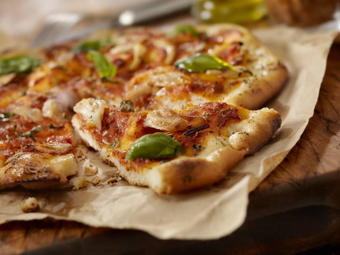 Pizza con Cornicione