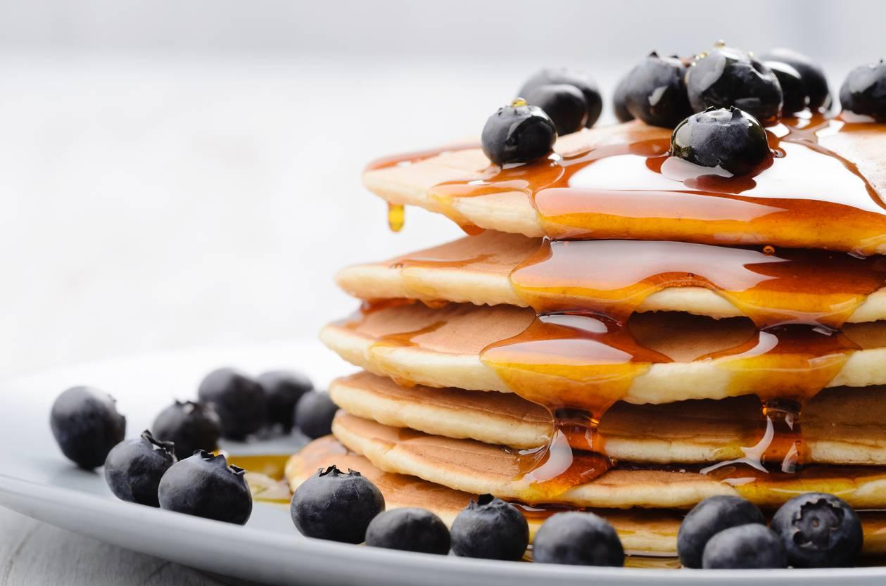 Pancake allo yogurt, per una merenda soffice e golosissima