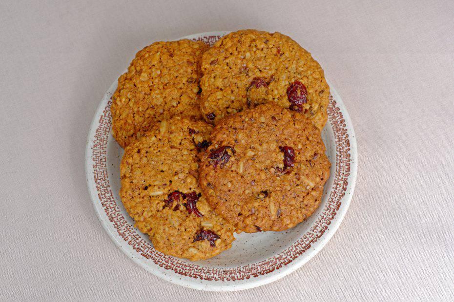 biscotti light con tre ingredienti