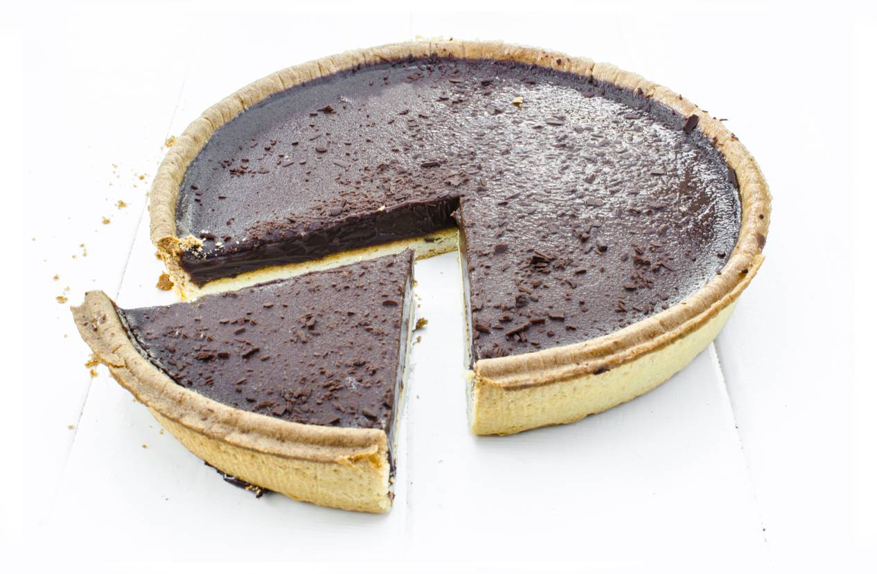 Crostata di Gianduia