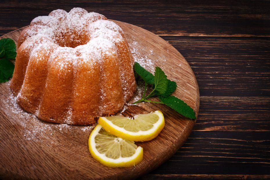 torta al limone senza lievito