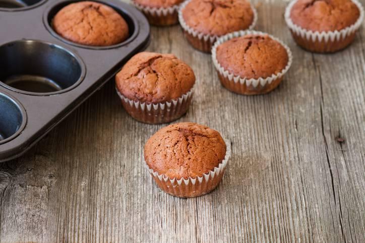 muffin al caffè e yogurt
