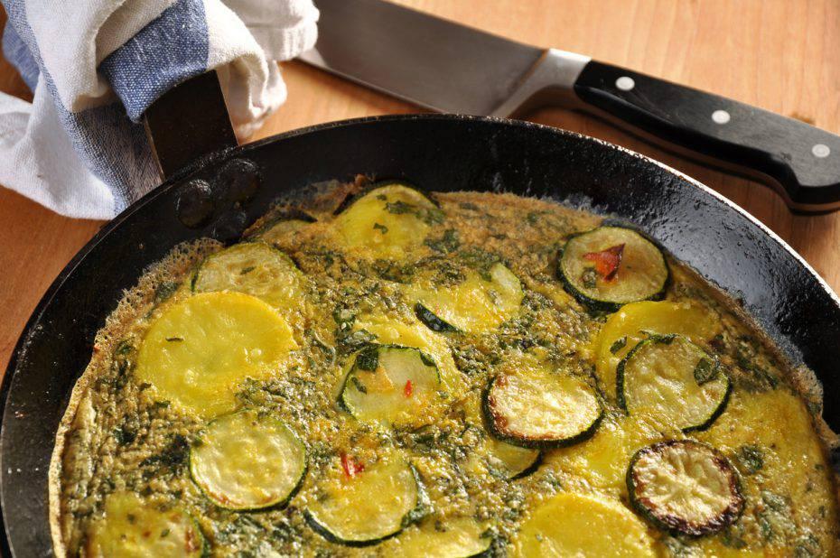frittata di zucchine e patate