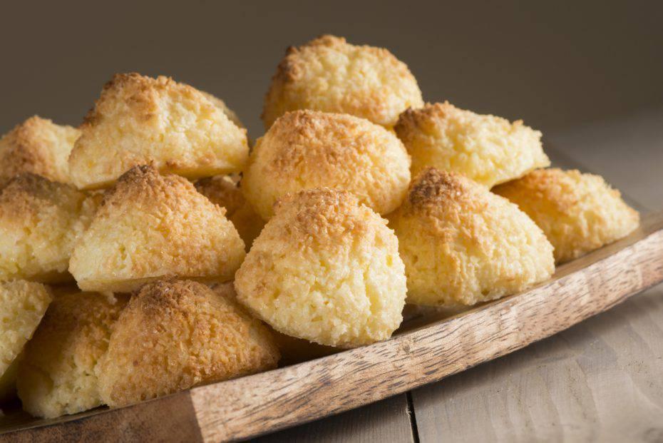 Biscotti alla farina di riso e cocco