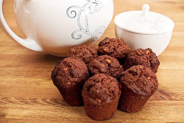 Muffin cioccolato e pere, dolcetti monoporzione ideali per una super merenda