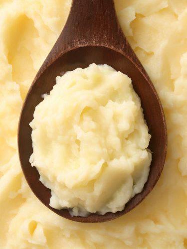 Puré di Patate al Limone