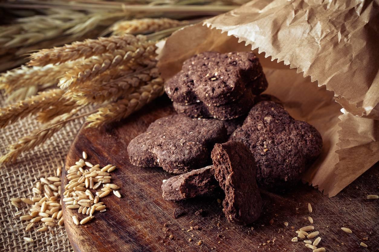 Biscotti Light al Cacao senza Burro ed Uova