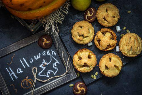 Crostatine Rustiche per Halloween