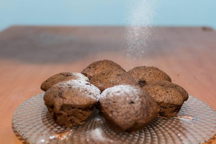 muffin soffici al cappuccino