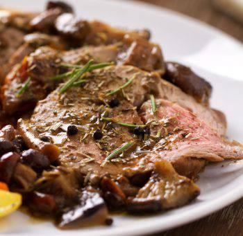 roast beef ai funghi