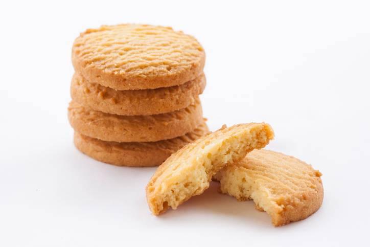Biscotti al caramello e liquirizia