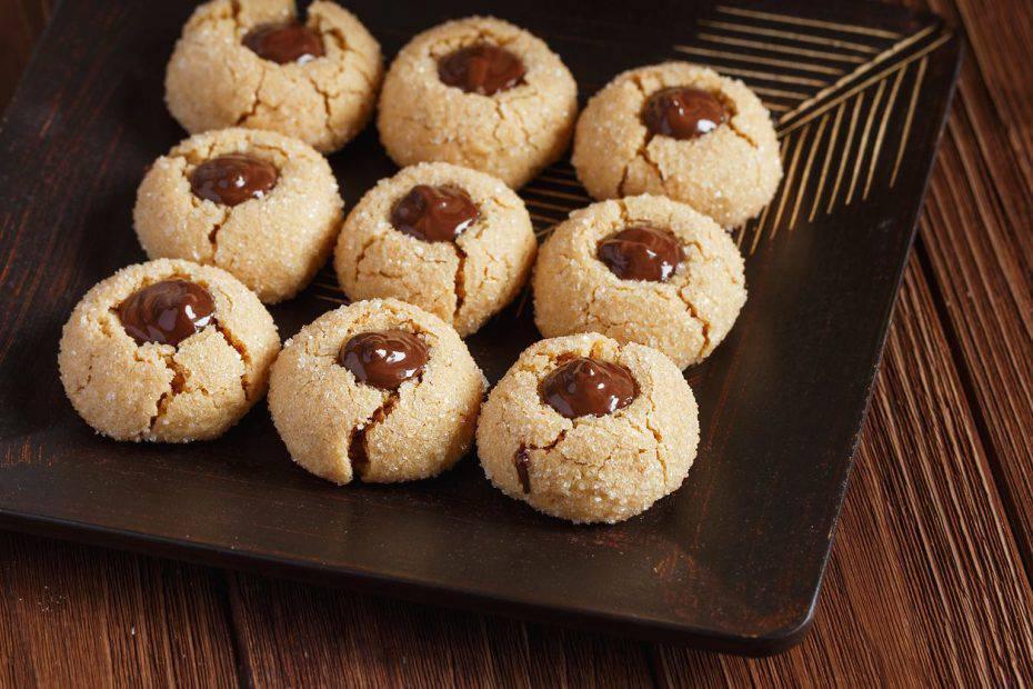 biscotti senza uova con Nutella